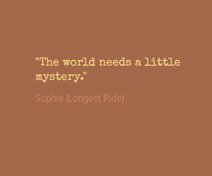 book, mystery, and sophia image