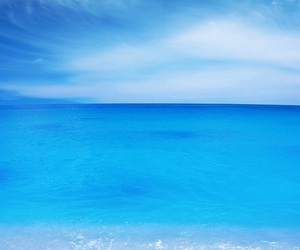 beach and blue image