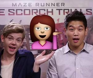 ki hong lee, newt, and minho image
