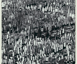graves, graveyard, and andreas feininger image