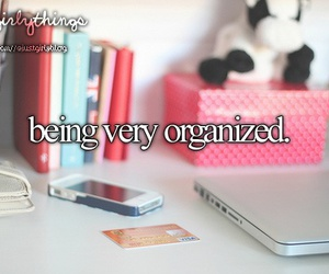 organized and just girly things image