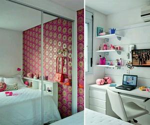 room, pink, and quarto image