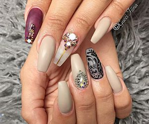 classy, fashion, and coffin nails image
