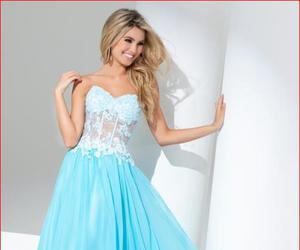 prom dress, prom dresses, and prom wear image