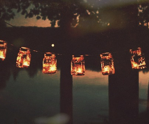 autumn, candles, and fall image