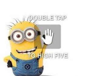 Dream, minion, and double tap image