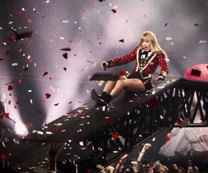 Taylor Swift, red, and red tour image
