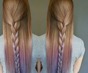 cute, hair, and pastel image