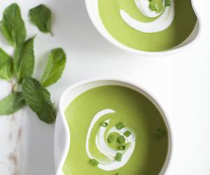 cream, green, and pea image