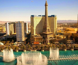 Las Vegas, city, and travel image