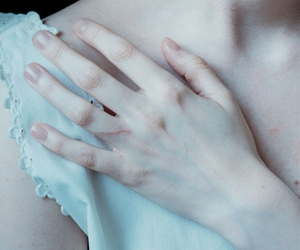 blue, pale, and innocent image