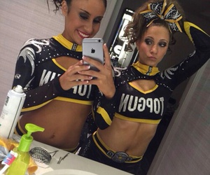 bff, cheer, and mirror image