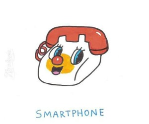 smartphone and telephone image