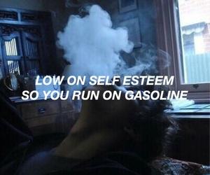 halsey, gasoline, and grunge image