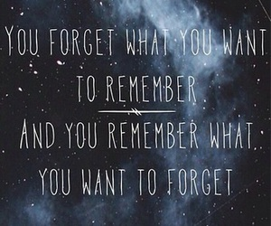 quote, forget, and galaxy image