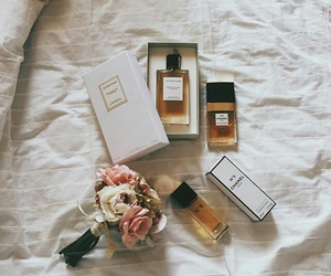 chanel, parfum, and vintage image