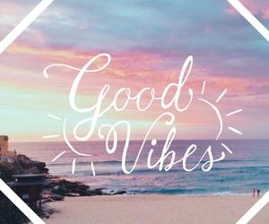 beach and good vibes image
