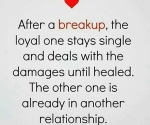 breakup and quotes image