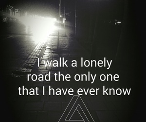 alone, empty, and green day image