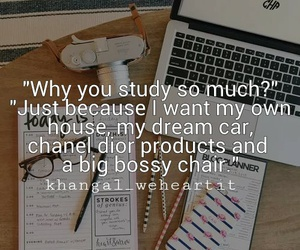 study, quotes, and motivation image
