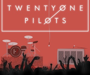 band, tøp, and drums image