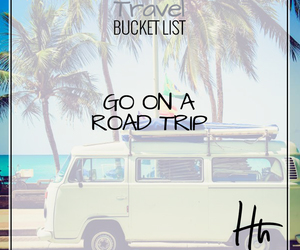 bucket, list, and road image