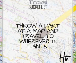 bucket, dart, and list image