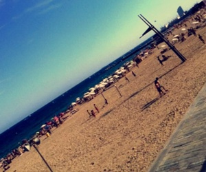 Espagne, plage, and barcelone image