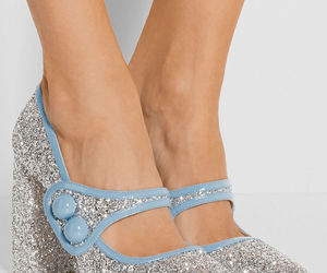 glitter, heels, and luxury image