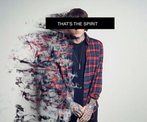 bring me the horizon, bmth, and that's the spirit image