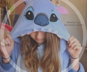 girl, tumblr, and stitch image