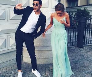 couple, dress, and boy image