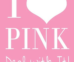 pink, pinky, and quote image
