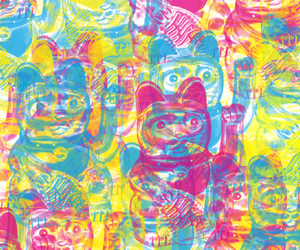 cat, cmyk, and fortune image