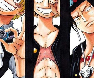 one piece, monkey d ruffy, and puma d ace image