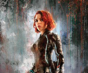 Marvel, Avengers, and black widow image