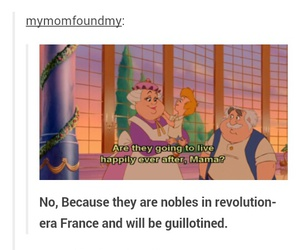 tumblr, beauty and the beast, and funny image