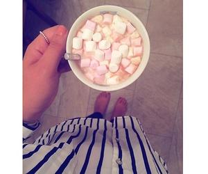 autumn, marshmallow, and winter image