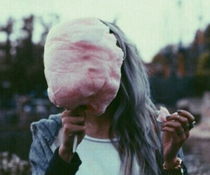 girl, grunge, and pink image