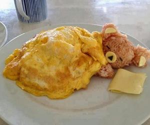 food, bear, and rice image
