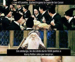 harry potter, albus dumbledore, and slytherin image