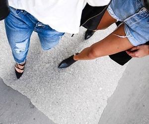 girl, fashion, and heels image