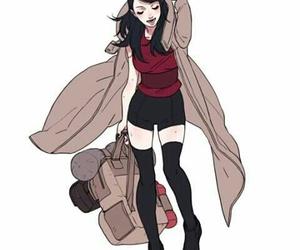 sarada, naruto, and anime image