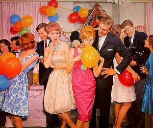 party, retro, and vintage image
