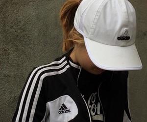 adidas, girl, and hipster image