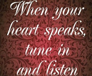heart, listen, and love image