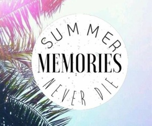 summer and memories image