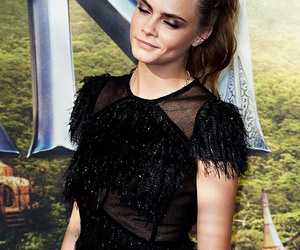 beauty, model, and cara delevingne image