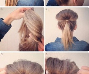bun, simple, and style image