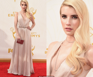 emma roberts, emmys, and scream queens image